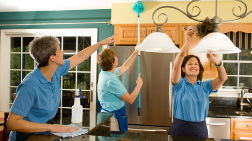 Hiring A House Cleaner Via Cleaning Agency London