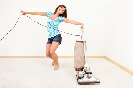 ouse cleanung to burn calories